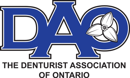 Denturist Association Ontario Logo
