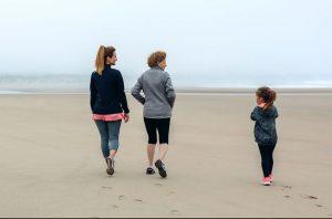 summertime wellness walking