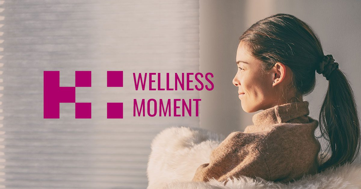 wellness moment self-care